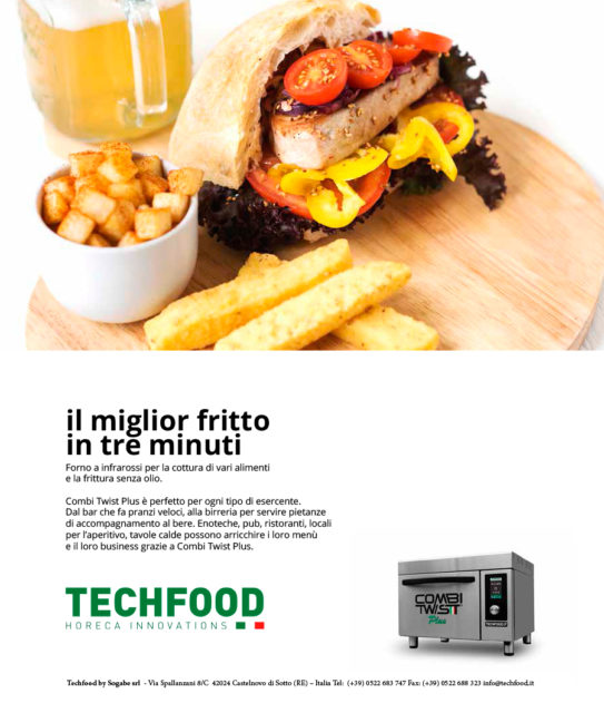 Techfood ADV project & design for Bargiornale