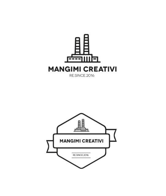 Mangimi Creativi – Logo design