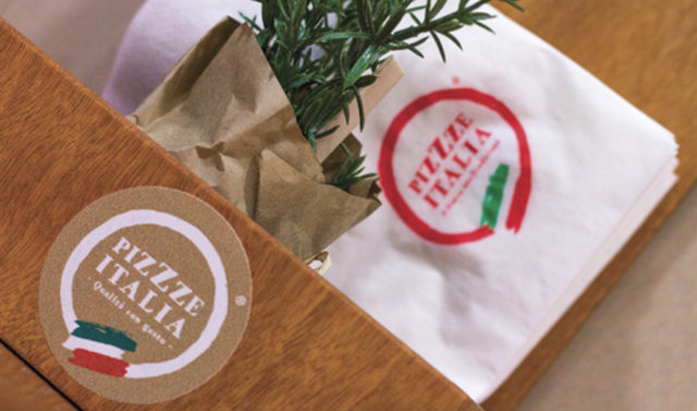 Pizzze Italia – Corporate ID + packaging design